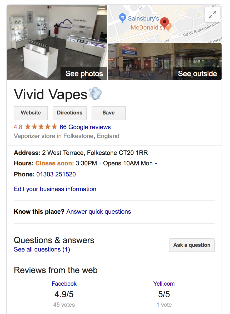 SEO Pages Screen-Shot-2019-01-27-at-15.02.10 Case Study: Vape Shop Local SEO Local SEO SEO Case Study